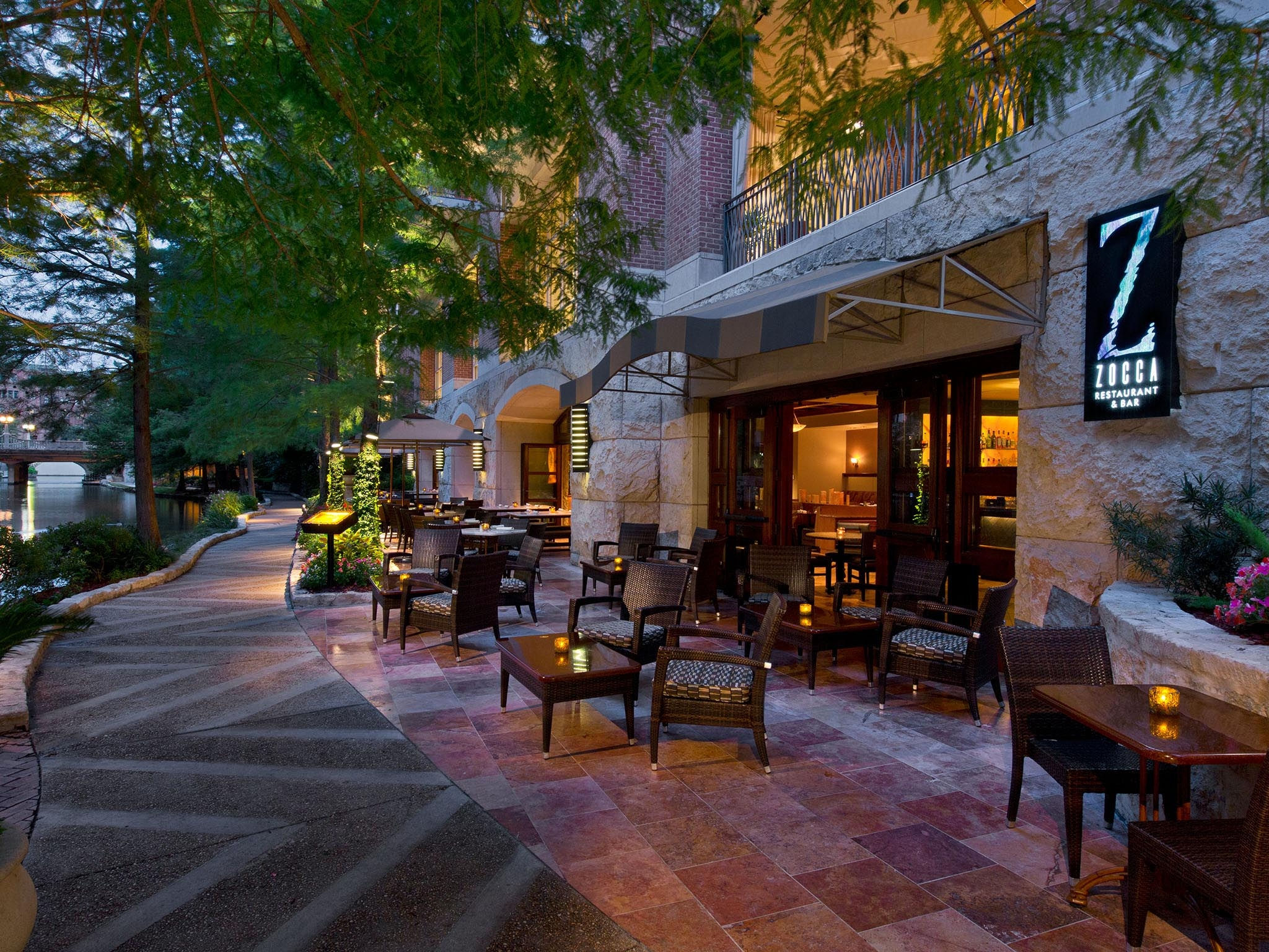 San Antonio Riverwalk Restaurants The Westin Riverwalk
